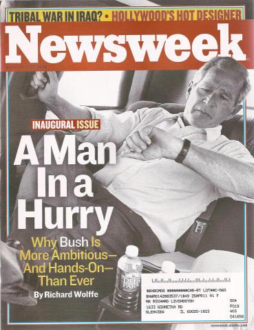 Newsweek Magazine January 24, 2005
