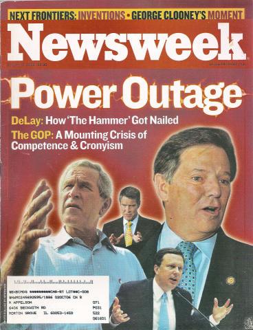 Newsweek Magazine October 10, 2005