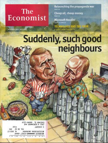 The Economist November 10, 2001