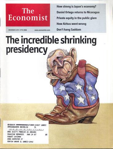 The Economist November 11, 2006