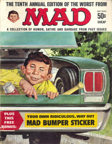 The Tenth Annual Edition Of The Worst From MAD