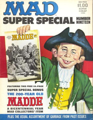 Mad Magazine Super Special No. 19