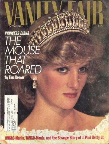Vanity Fair Magazine October 1985