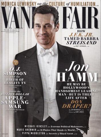 Vanity Fair Magazine June 2014