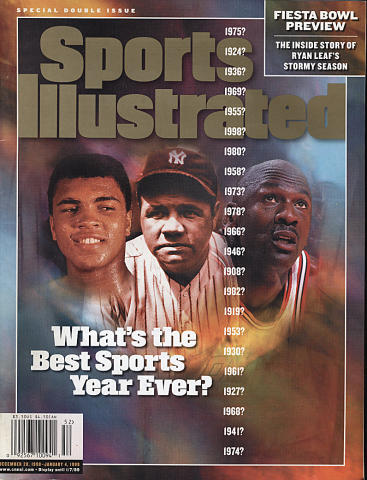 Sports Illustrated Special Double Issue 1998