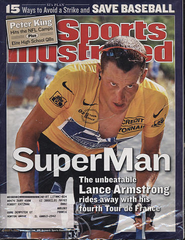 Sports Illustrated August 5, 2002
