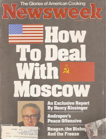Newsweek Magazine November 29, 1982