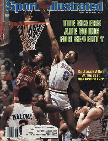 Sports Illustrated February 28, 1983