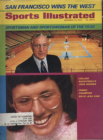 Sports Illustrated December 25, 1972