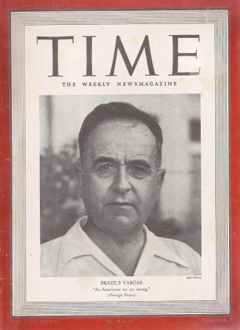 Time Magazine August 12, 1940