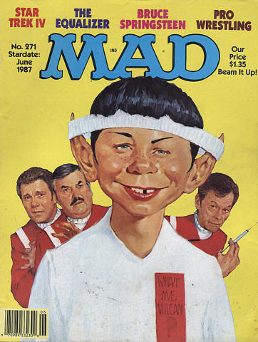 Mad Magazine June 1987