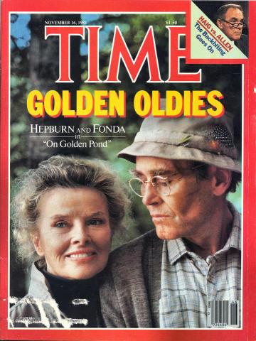 Time Magazine November 16, 1981