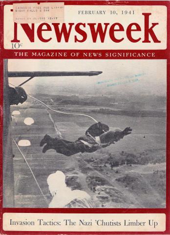 Newsweek Magazine February 10, 1941