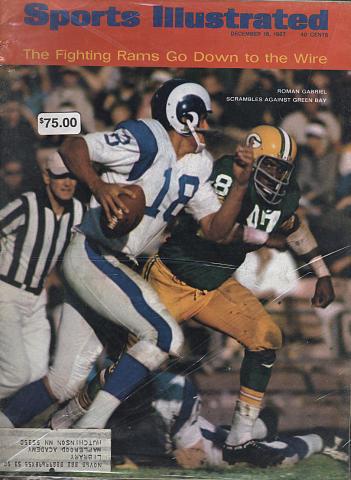 Sports Illustrated December 18, 1967