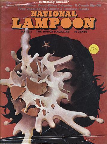 National Lampoon Magazine January 1972