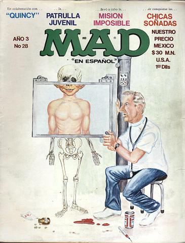 MAD En Espanol Ano 3 No. 28