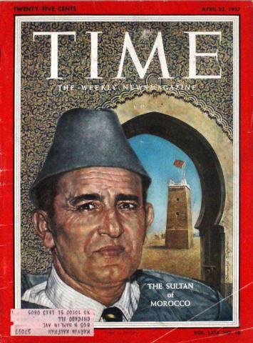 Time Magazine April 22, 1957