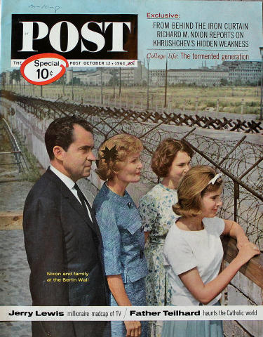 The Saturday Evening Post October 12, 1963