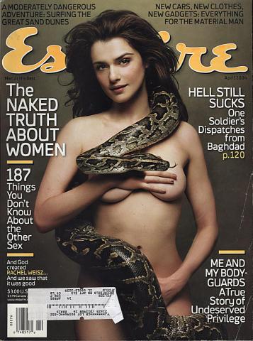 Esquire April 1, 2004