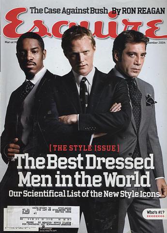 Esquire September 1, 2004