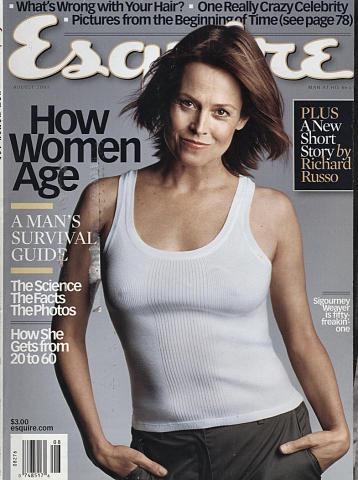 Esquire August 1, 2001