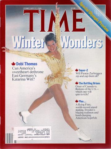 Time Magazine February 15, 1988