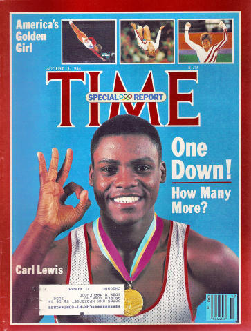 Time Magazine August 13, 1984