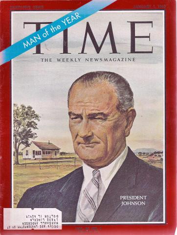 Time Magazine January 1, 1965
