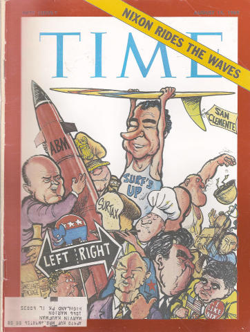 Time Magazine August 15, 1969