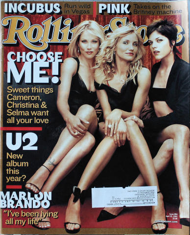 Rolling Stone Magazine April 25, 2002