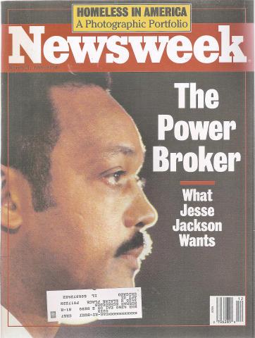 Newsweek Magazine March 21, 1988