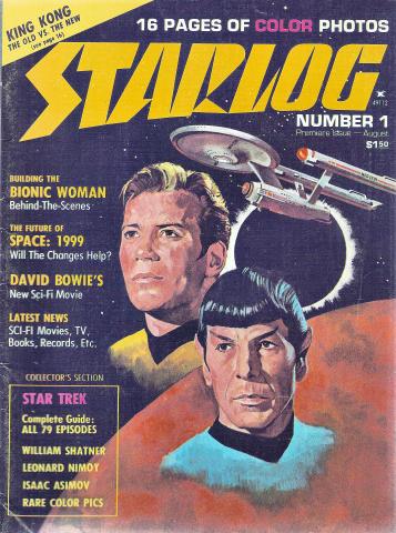 Starlog Magazine August 1976