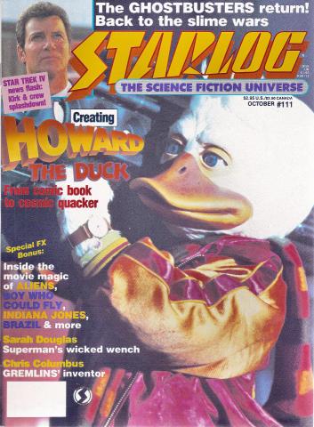 Starlog Magazine October 1986