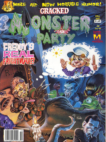 Cracked Monster Party