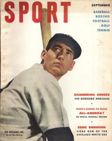 Sport Magazine September 1951