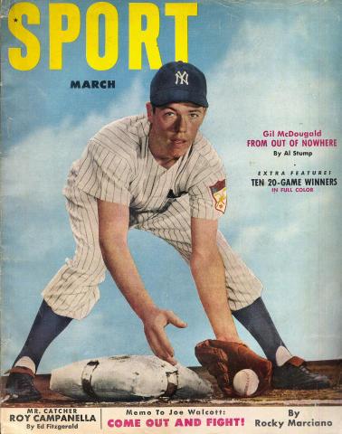Sport Magazine March 1952