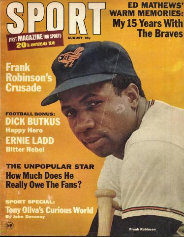 Sport Magazine August 1966