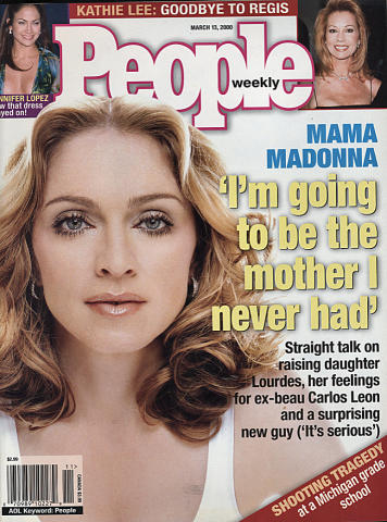 People Magazine March 13, 2000