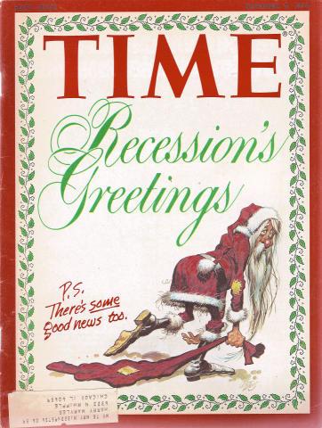 Time Magazine December 9, 1974