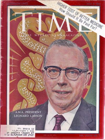 Time Magazine July 7, 1961