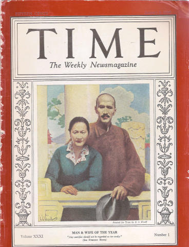 Time Magazine January 3, 1938