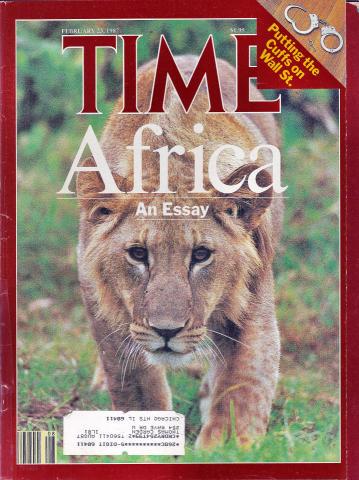 Time Magazine February 23, 1987