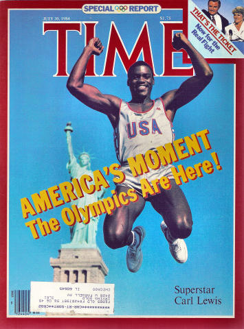 Time Magazine July 30, 1984