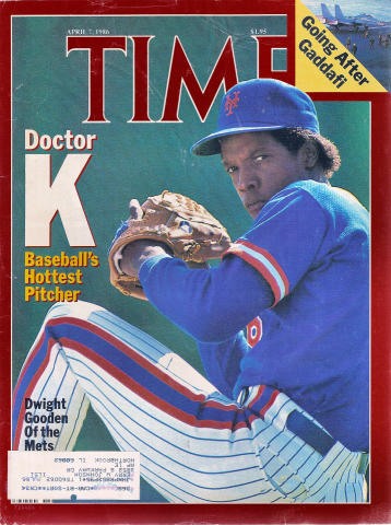 Time Magazine April 7, 1986