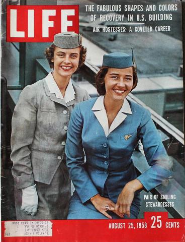 LIFE Magazine August 25, 1958