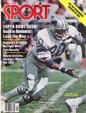 Sport Magazine January 1981