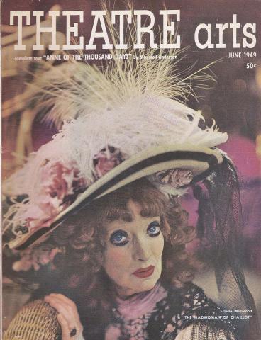 Theatre Arts Magazine June 1949