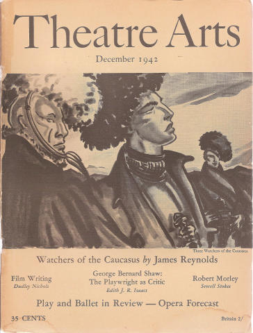 Theatre Arts Magazine December 1942