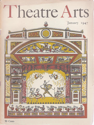 Theatre Arts Magazine January 1947