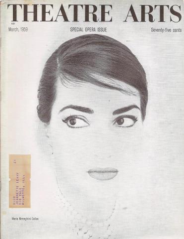 Theatre Arts Magazine March 1959